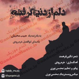 دانلود آهنگ دلم از دنیا گرفته از ابوالفضل خرم رودی