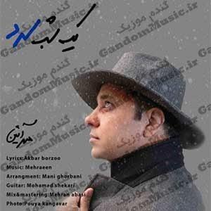 دانلود آهنگ یک شب سرد از مهرآئین